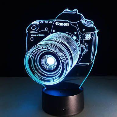 مصباح على شكل كاميرا