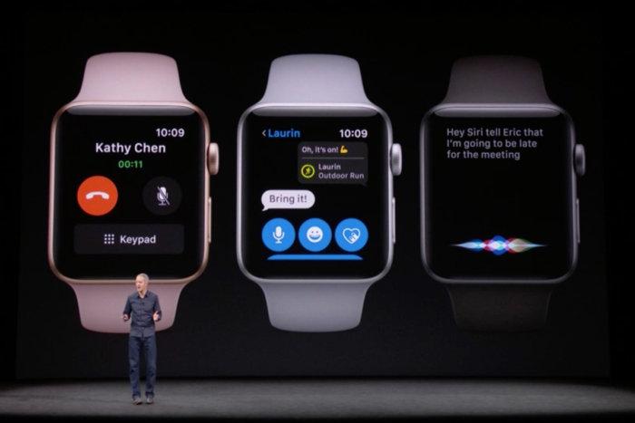 """أبل تعلن عن النسخة الجديدة من الجيل الجديد """"Series3"""" من ساعتها الذكية"""
