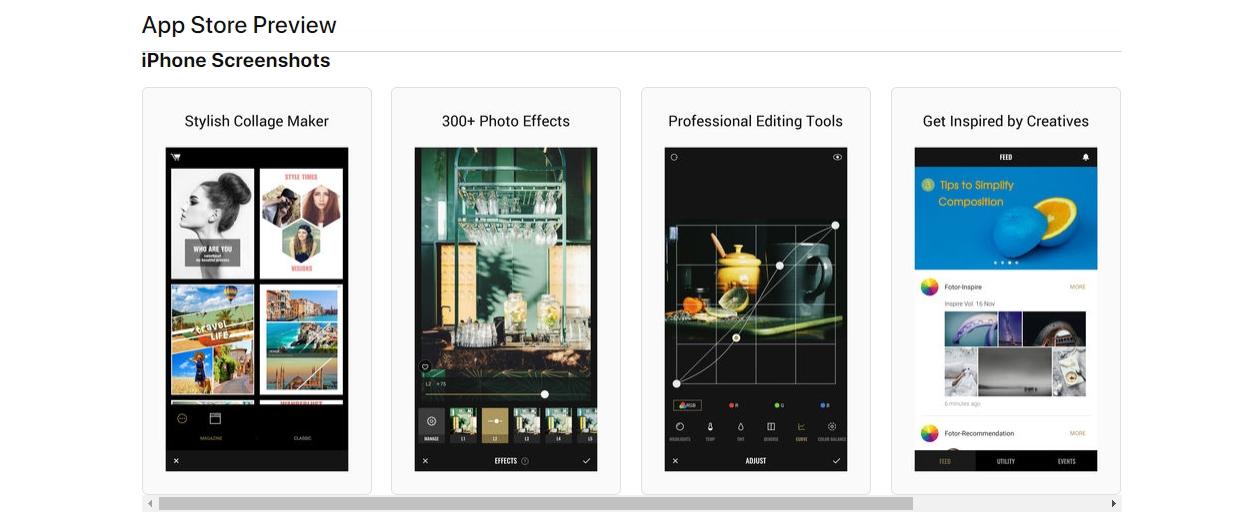افضل برامج تصميم الصور للايفون