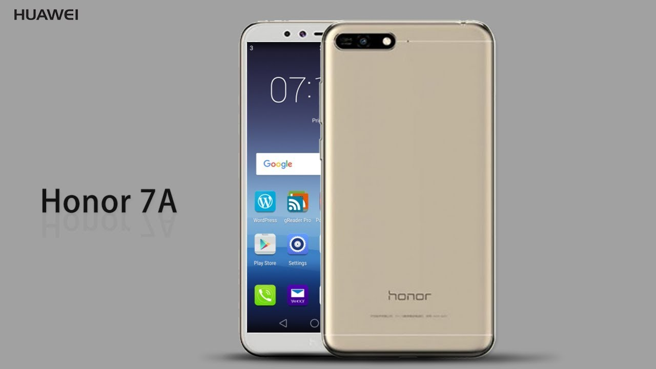 "سعر و مواصفات هاتف ""Huawei Honor 7A"" من هواوي"