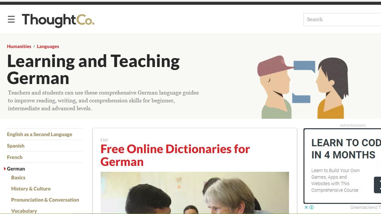 مواقع مجانية لتعليم اللغة الألمانية
