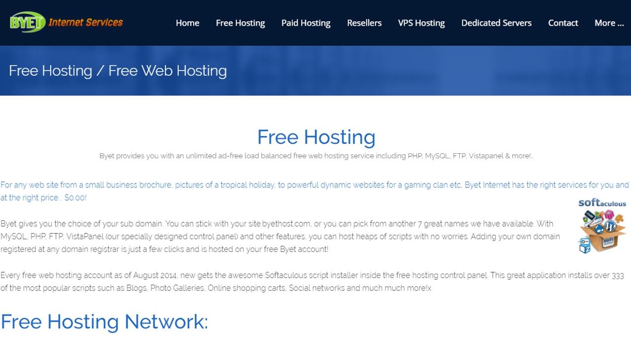 أفضل موقع استضافة مجاني - تعرف على افضل المواقع التي تقدم استضافة مجانية