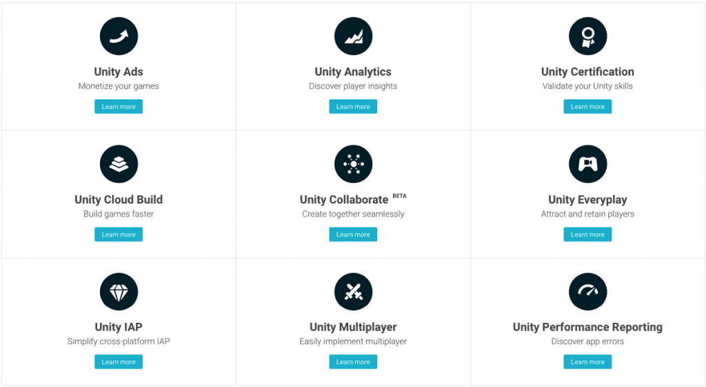 Unity Services