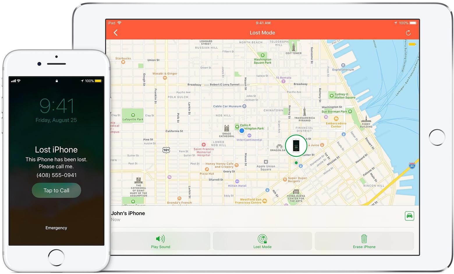 تطبيق Find My iPhone لحماية جهازك من السرقة و الحفاظ على خصوصيتك