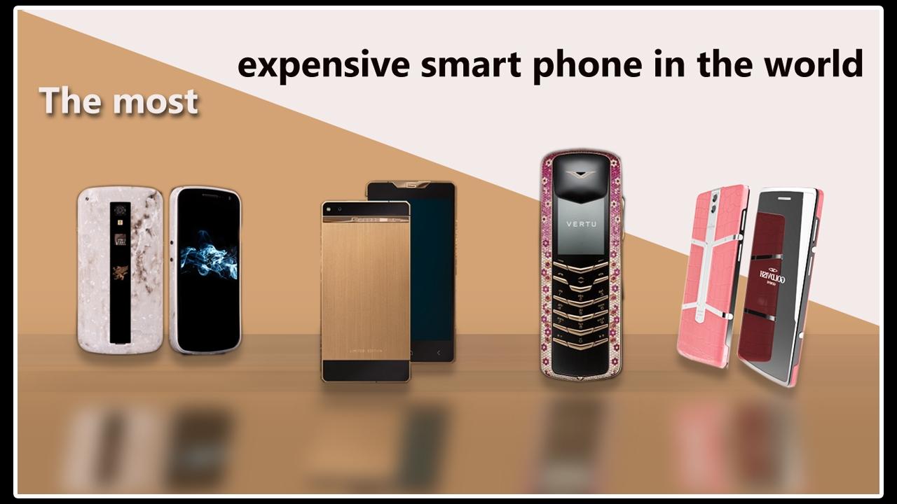 تعرف على أغلى الهواتف الذكية بالعالم و أسعارها