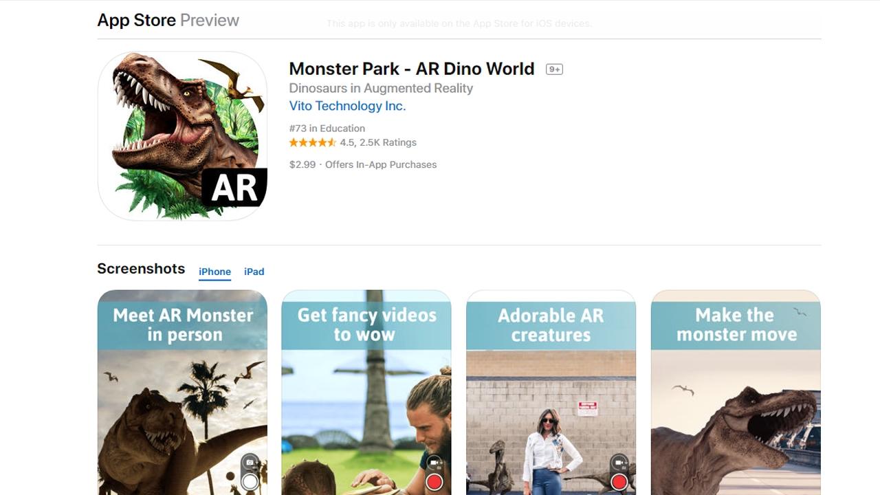 """تحميل أفضل تطبيقات الواقع المعزز للأيفون """"Augmented Reality"""""""