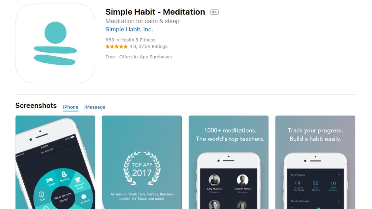 تحميل أروع تطبيقات التأمل و الاسترخاء للأيفون