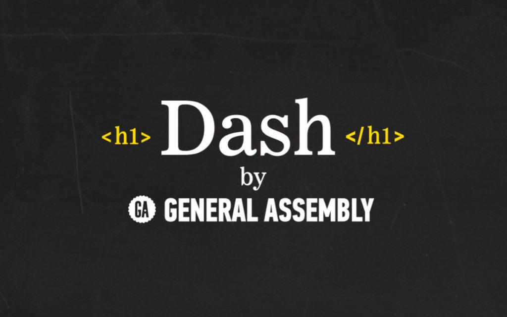 تعلم البرمجة على DASH